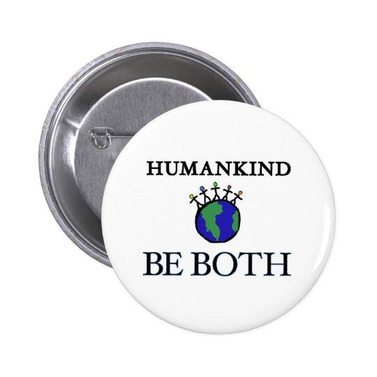 Humankind 6 Cm Round Badge
