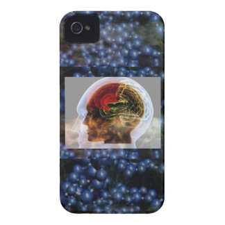HUMANOID : Brain Brainy Science Biology Mind iPhone 4 Case-Mate Cases