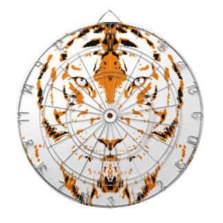 Humans are like tigers, wild dartboard