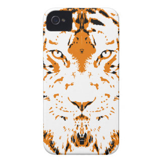 Humans are like tigers, wild iPhone 4 case