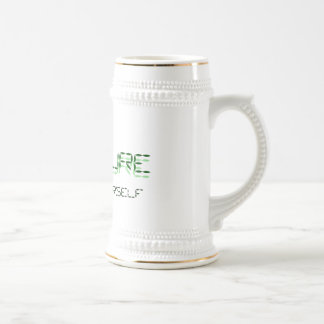 HUMANURE RECYCLE YOURSELF MORHING BEER STEIN