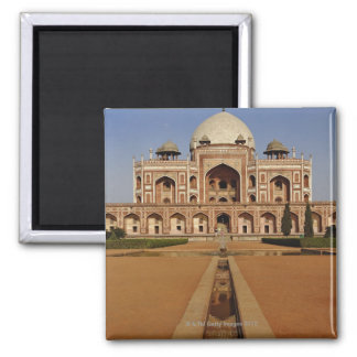 Humayun's Tomb Square Magnet