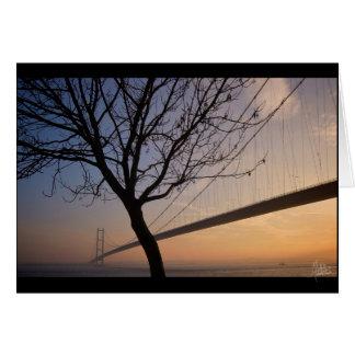 Humber Bridge #4 [Greeting Card]