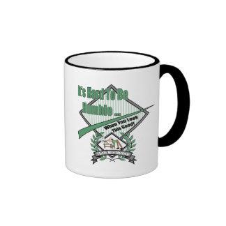 Humble 75th Birthday Gifts Ringer Mug