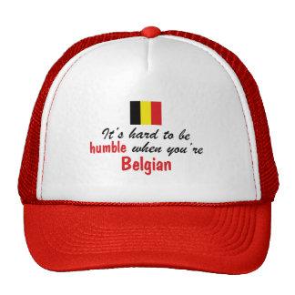 Humble Belgian Mesh Hats