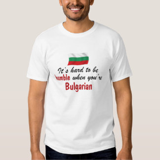 Humble Bulgarian T-shirts