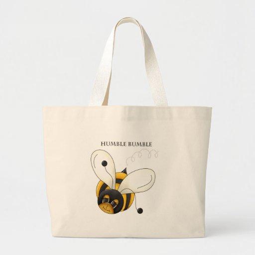 Humble Bumble Jumbo Tote Bag