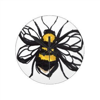 Humble Bumblebee Clock