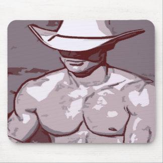 Humble Cowboy Mouse Mat