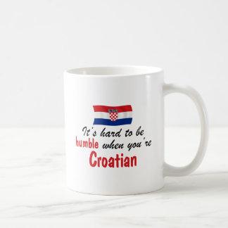 Humble Croatian Basic White Mug