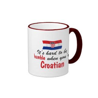 Humble Croatian Ringer Mug