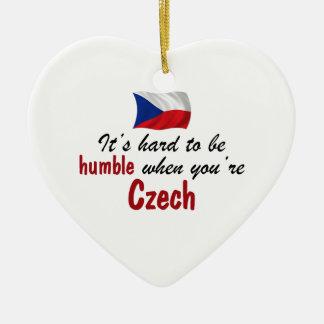 Humble Czech Christmas Ornament