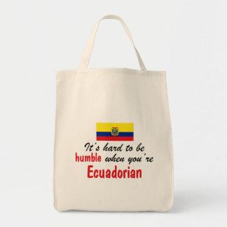 Humble Ecuadorian Tote Bags