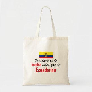 Humble Ecuadorian Canvas Bags