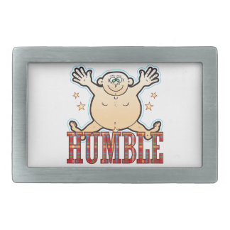 Humble Fat Man Belt Buckle