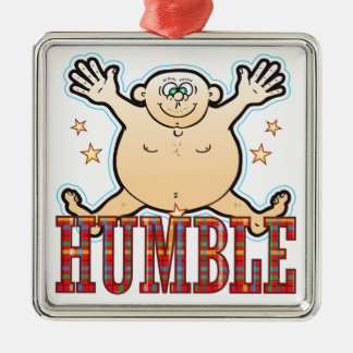 Humble Fat Man Christmas Ornament
