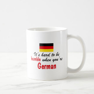 Humble German Basic White Mug