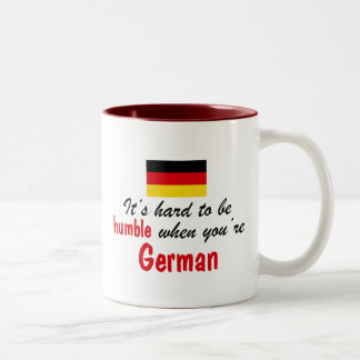 Humble German Two-Tone Coffee Mug