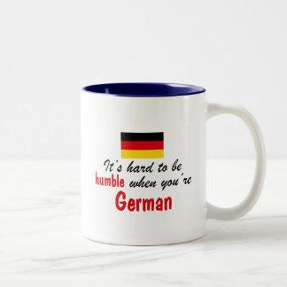 Humble German Two-Tone Mug
