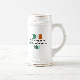 Humble Irish Beer Stein
