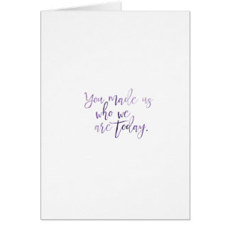 Humble Kids Mother's Day Card