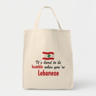 Humble Lebanese Canvas Bags