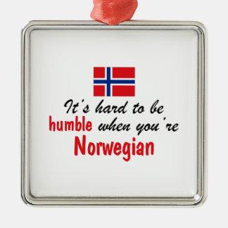 Humble Norwegian Christmas Ornament