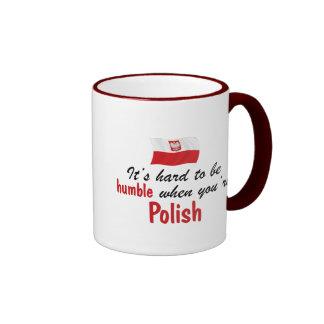 Humble Polish Ringer Coffee Mug