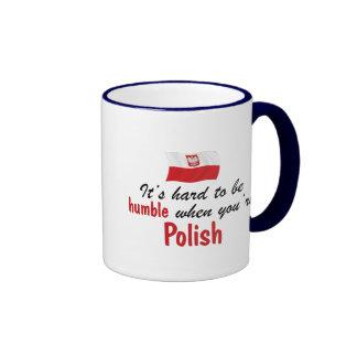 Humble Polish Ringer Mug