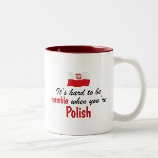 Humble Polish Two-Tone Mug