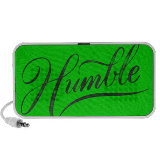 HUMBLE QUALITY CHARACTERISTICS ATTITUDE PERSONALIT NOTEBOOK SPEAKERS