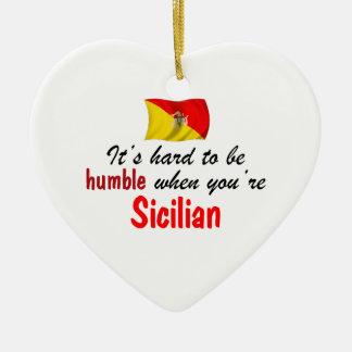 Humble Sicilian Christmas Ornament