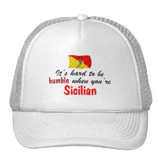 Humble Sicilian Mesh Hats