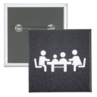 Humbles Symbol 15 Cm Square Badge