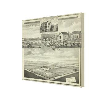 Humboldt, Kansas Stretched Canvas Prints
