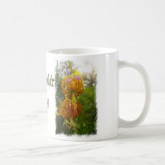 Humboldt Lilies Sunburst on White Coffee Mug