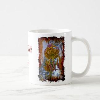 Humboldt Lily on Grungy White Coffee Mug