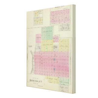 Humboldt, Moran City, and Laharp, Kansas Stretched Canvas Prints