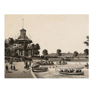Humboldt park, Chicago (C. 1880) Postcard