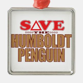 Humboldt Penguin Save Christmas Ornament