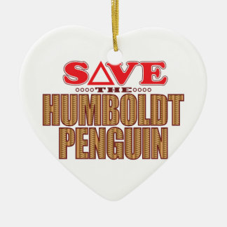 Humboldt Penguin Save Christmas Ornament