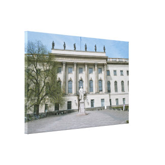 Humboldt University in Berlin Gallery Wrap Canvas
