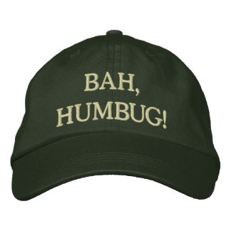 Humbug! Embroidered Hat