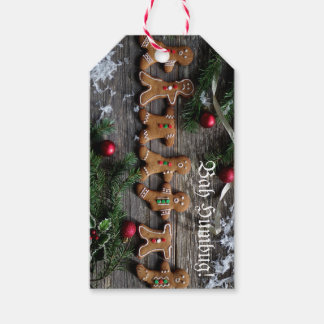 Humbug Gingerbread Gift Tags