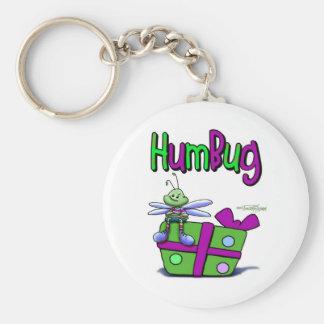 Humbug on the Holidays Basic Round Button Key Ring