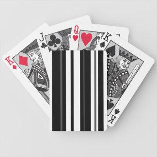 Humbug Stripe vertical Bicycle Playing Cards