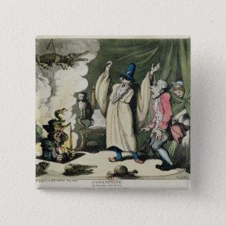 Humbugging or Raising the Devil, 1800 15 Cm Square Badge