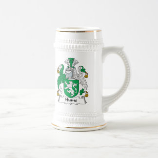 Hume Family Crest Beer Steins