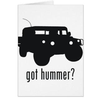 Hummer Cards