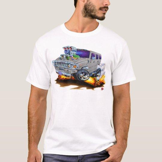 Hummer H2 Grey Truck T-Shirt